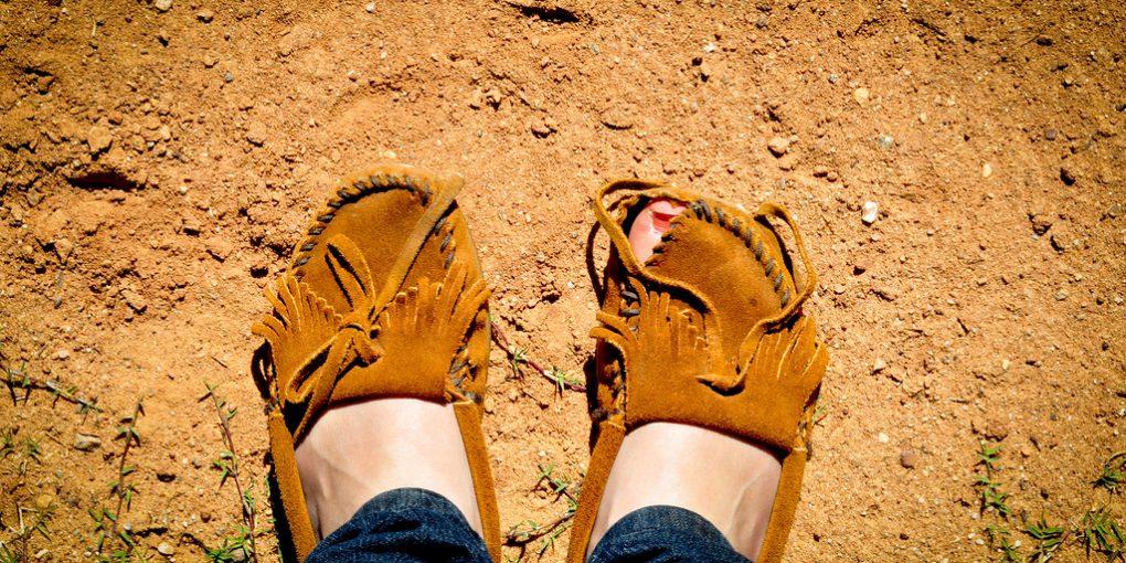 Moccasins Make Good Walking Shoes
