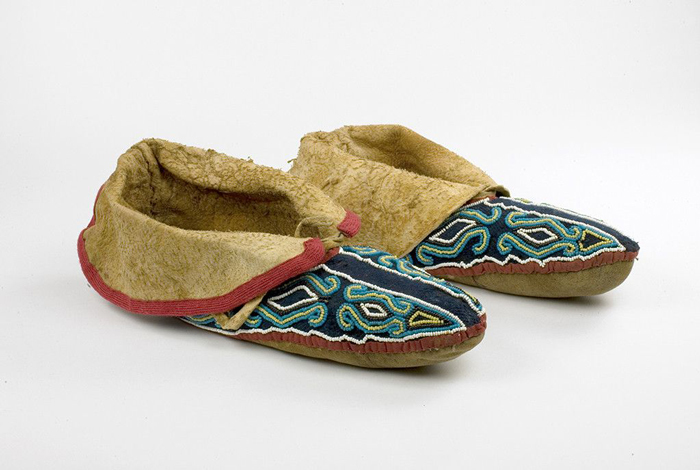 Moccasins--Native-Attire