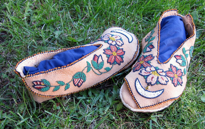 Moccasins-with-a-Native-Attire